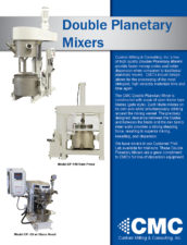 Double Planetary Mixer (Web Copy)
