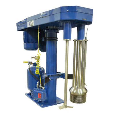 Basket style media mill ideal for applications requiring quick change over with minimal downtime.